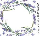 violet lavender. floral... | Shutterstock . vector #1099940645