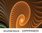 shell abstract fractal | Shutterstock . vector #1099944854
