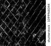 grunge black and white pattern. ... | Shutterstock . vector #1099968344