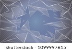 the glass beats and flies in... | Shutterstock .eps vector #1099997615