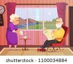 vector background illustrations ... | Shutterstock .eps vector #1100034884