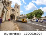 lisbon  portugal   june 17 ... | Shutterstock . vector #1100036024