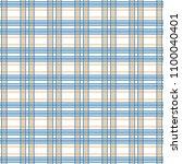 tartan seamless pattern.... | Shutterstock .eps vector #1100040401