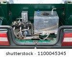 handmade nitrous oxide engine...   Shutterstock . vector #1100045345