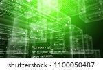 an advanced 3d rendering of see ... | Shutterstock . vector #1100050487