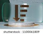 golden sorting by quantity in...   Shutterstock . vector #1100061809