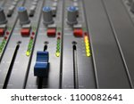 professional sound control panel | Shutterstock . vector #1100082641