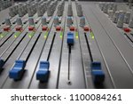 professional sound control panel | Shutterstock . vector #1100084261