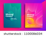 minimal covers design with... | Shutterstock .eps vector #1100086034