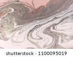 marble abstract acrylic wave... | Shutterstock . vector #1100095019