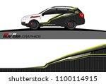 vehicle graphic vector.... | Shutterstock .eps vector #1100114915