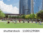 dallas  tx  usa may 26  2018... | Shutterstock . vector #1100129084