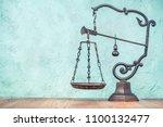 retro bronze art nouveau modern ... | Shutterstock . vector #1100132477