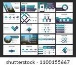 20 bundle presentation template ... | Shutterstock .eps vector #1100155667