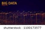 big data visualization.... | Shutterstock .eps vector #1100173577