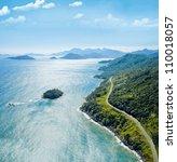 beautiful ocean landscape   Shutterstock . vector #110018057