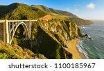 beautiful california coast and... | Shutterstock . vector #1100185967