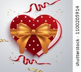 christmas presents with a gift...   Shutterstock .eps vector #1100205914