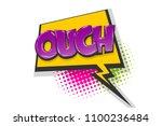 omg ouch oops comic text speech ...   Shutterstock .eps vector #1100236484