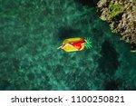 summer lifestyle portrait of...   Shutterstock . vector #1100250821
