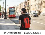 people  travel  tourism and... | Shutterstock . vector #1100252387