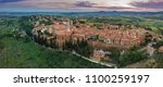pienza tuscany town | Shutterstock . vector #1100259197