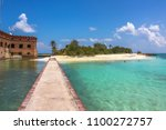 the tropical waters of the gulf ... | Shutterstock . vector #1100272757