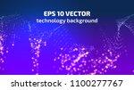 vector abstract background.... | Shutterstock .eps vector #1100277767