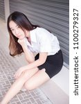 Young Thai University Student...