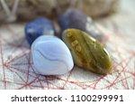 assortment of beautiful healing ... | Shutterstock . vector #1100299991