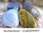 assortment of beautiful healing ... | Shutterstock . vector #1100299997