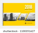 cover design for annual report... | Shutterstock .eps vector #1100351627