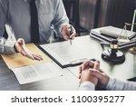 customer service good... | Shutterstock . vector #1100395277