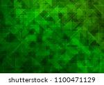 light green vector blurry... | Shutterstock .eps vector #1100471129