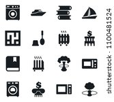 set of simple vector isolated... | Shutterstock .eps vector #1100481524