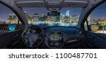 looking through a car... | Shutterstock . vector #1100487701