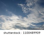 blue sky and clouds | Shutterstock . vector #1100489909