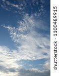 blue sky and clouds | Shutterstock . vector #1100489915