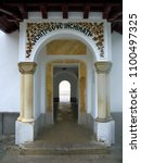 Small photo of Sinaia, Prahova/Romania - 07 20 2017: Passageway leading to the Old Church, Sinaia Monastery