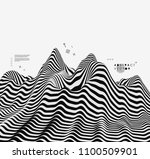 landscape background. terrain....   Shutterstock .eps vector #1100509901