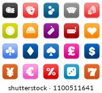 casino icons set   vector... | Shutterstock .eps vector #1100511641