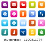 connection icons set  network... | Shutterstock .eps vector #1100511779