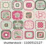 seamless abstract colorful... | Shutterstock .eps vector #1100512127