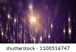 abstract violet bokeh circles.... | Shutterstock . vector #1100516747