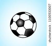 world championship football cup ... | Shutterstock .eps vector #1100533007