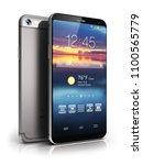 mobile phone wireless... | Shutterstock . vector #1100565779