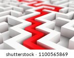 creative abstract success ... | Shutterstock . vector #1100565869