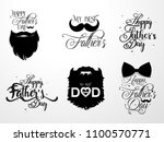 illustration for father's day | Shutterstock .eps vector #1100570771
