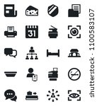 set of vector isolated black... | Shutterstock .eps vector #1100583107