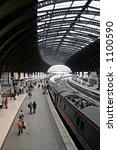 Train Station Of York  England